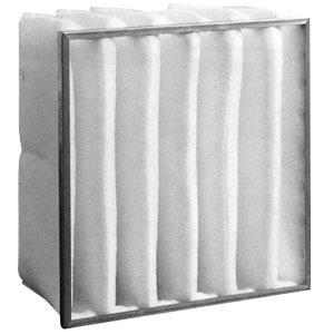 Filtro a tasche morbide efficienza M5 dimensione 492x592x380 mm