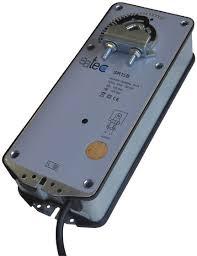 Servomotore modulante a 24 V ritorno a molla 15 Nm per serrande di regolazione fino a 3 mq SR15
