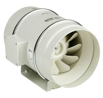 Ventilatore elicocentrifugo compatto da condotto serie TD-MIXVENT modello TD-160/100N