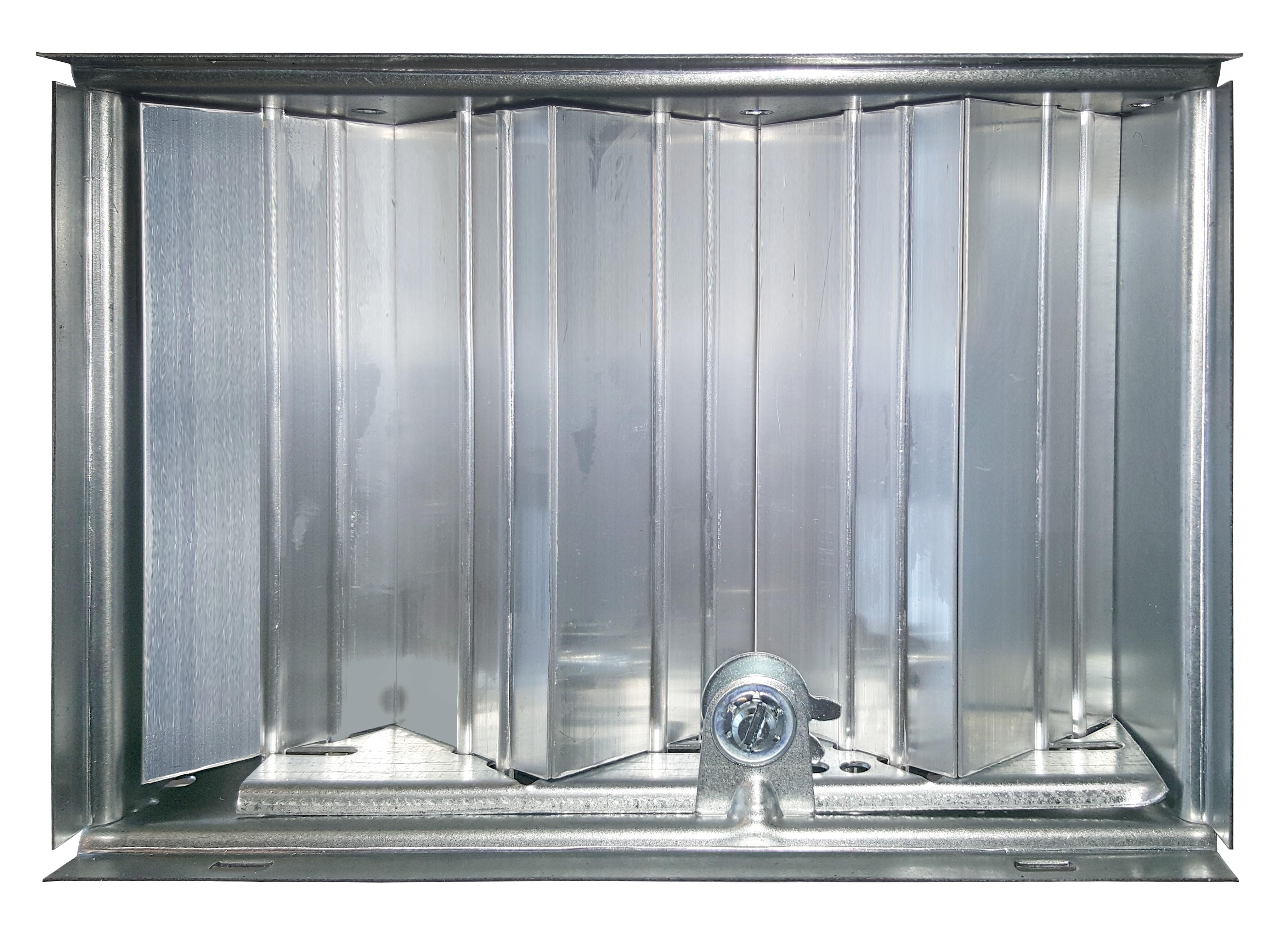 Serranda di regolazione a contrasto per bocchette dimensione 1000x400 mm serie BBMA/BGRA