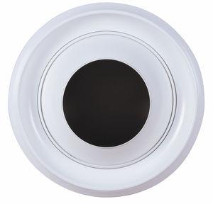 Diffusore ad ugello in alluminio a lunga gittata diametro 80 mm verniciato bianco RAL 9010