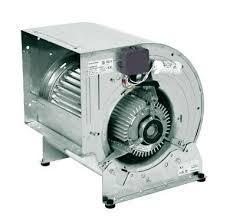 Ventilatore doppia aspirazione con motore direttamente accoppiato 0,55 kw 220 V 10/10 4 poli