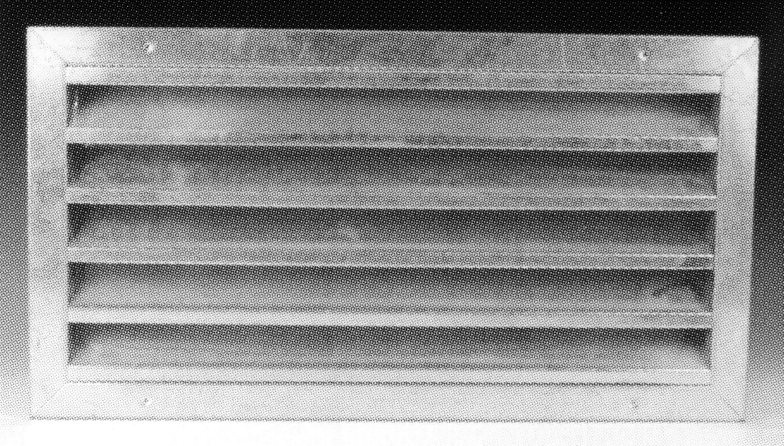 Griglia presa aria esterna in acciaio zincato con rete passo 50 dimensione 1000x1000 mm