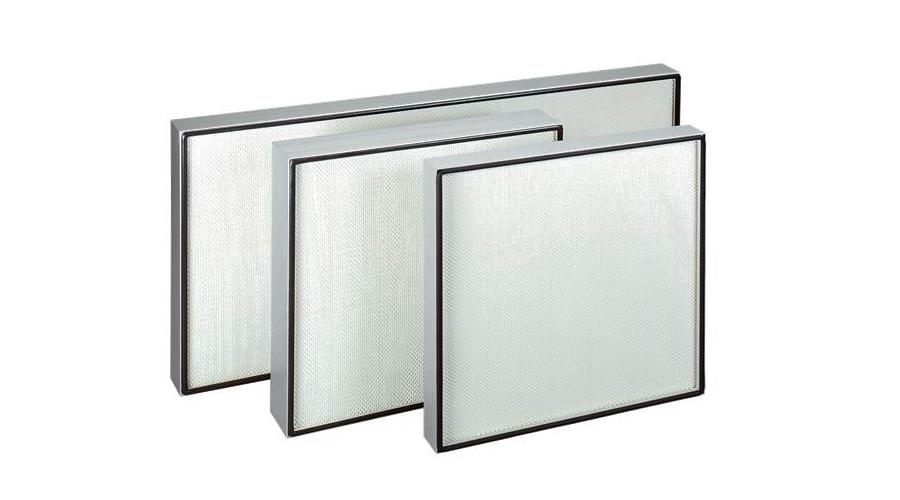 Cella filtrante a flusso laminare 305 x 610 x 78 mm efficienza H14 portata 280 mc/h