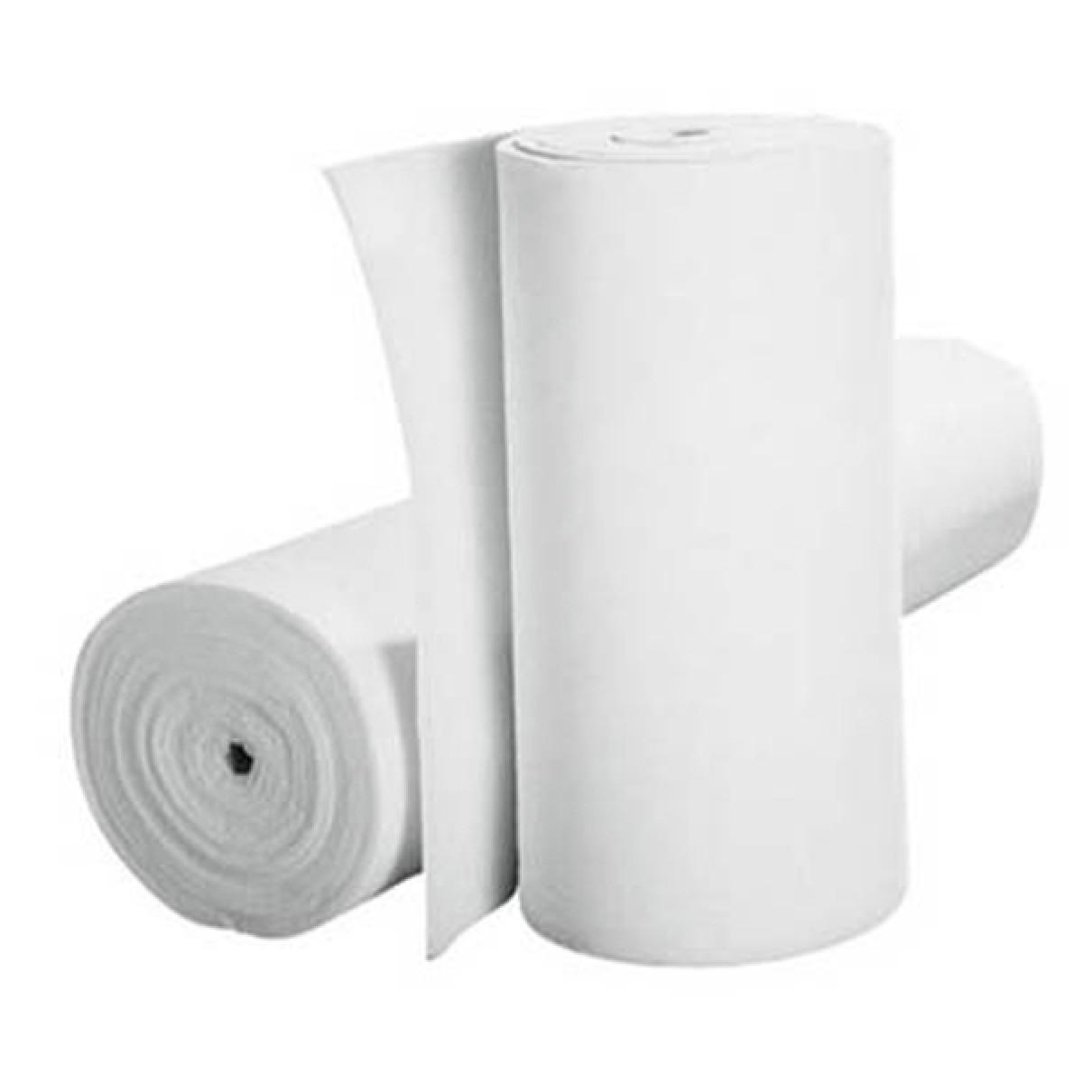Tessuto filtrante spessore 10 mm in rotolo altezza 1.000 mm confezione da 20 mq.