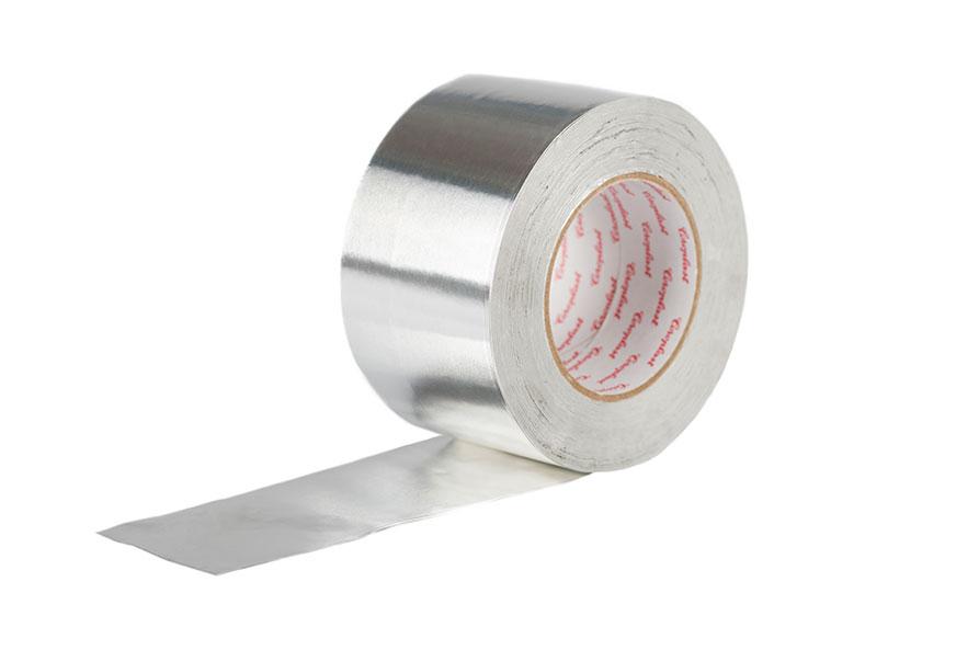 Nastro adesivo in alluminio H 75 mm - 40 micron rotolo da 50 metri lineari
