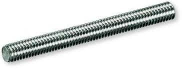 Barra filettata zincata diametro 6 mm  L=1000 mm