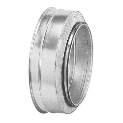 Tappo circolare in acciaio zincato isolato spessore isolamento 25 mm diametro 125 mm