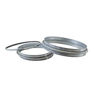 Kit flange c/anello di chiusura d.200 mm.sp.8/10.