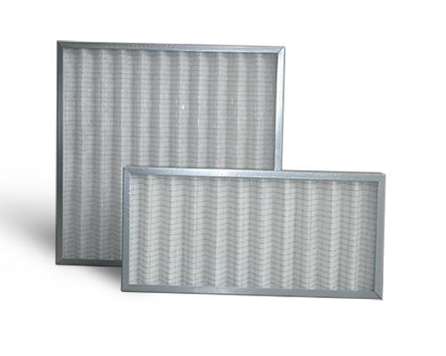 Cella filtrante sintetica ondulata G4 dimensioni 400x400x48 mm