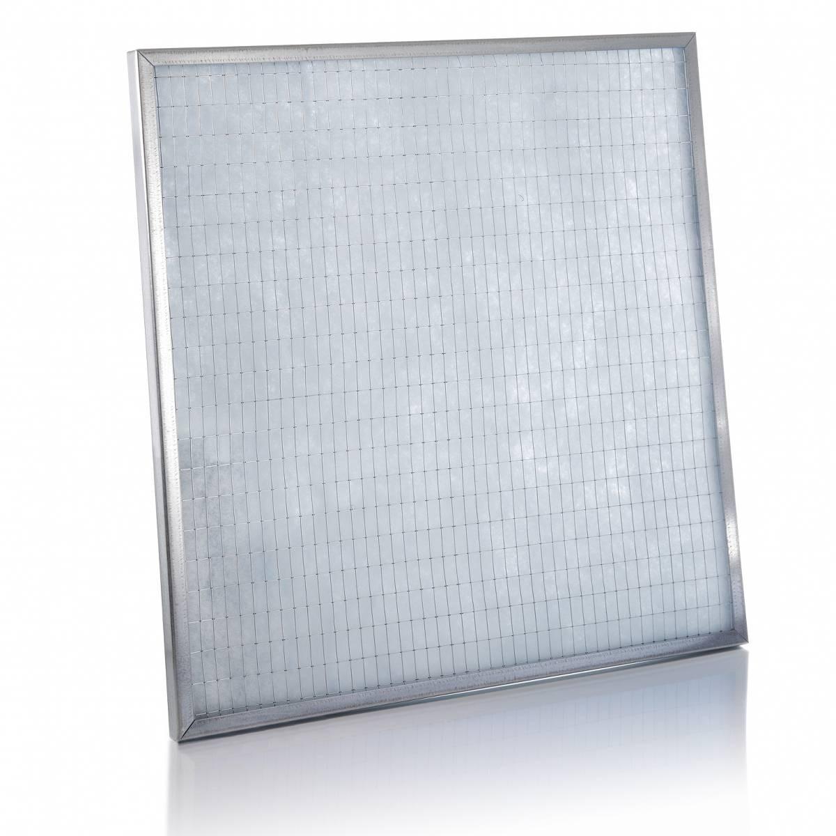 Cella filtrante sintetica piana efficienza G4 dimensioni 400x400x48 mm